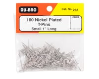 """Image 2 for DuBro 1"""" Nickel Plated T-Pins (100)"""
