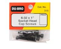 "Image 2 for DuBro 6-32 x 1"" Socket Head Cap Screws (4)"