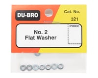 Image 2 for DuBro #2 Flat Washer (8)