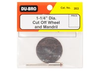 "Image 2 for DuBro 1-1/4"" Cut Off Wheel w/Mandrill"