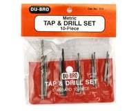 Image 2 for DuBro Complete Tap & Drill Set (Metric)
