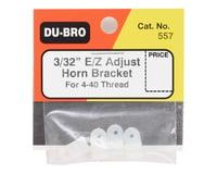 """Image 2 for DuBro E/Z Adjustable Horn Bracket (4) (3/32"""")"""