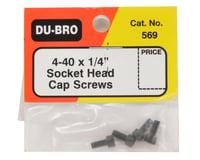 """Image 2 for DuBro 4-40 x 1/4"""" Cap Head Screw (4)"""