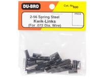 Image 2 for DuBro 2-56 Spring Steel Kwik-Link (12)