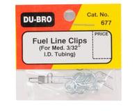 DuBro Medium Fuel Line Clips (4)
