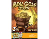 Discover With Dr. Cool Real Gold Dig Kit - Dig Up Real Pyrite Nuggets (Vial of Real Gold Included!)