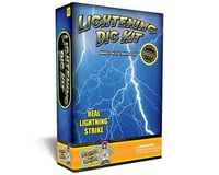 Discover with Dr. Cool Lightning Science Kit – Dig Up 2 Real Fulgurites (Lightning Strike Glass)