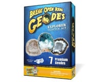Discover with Dr. Cool Geode Explorer Science Kit – Crack Open 7 Amazing Rocks and Find Crystals!