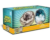 Discover with Dr. Cool 2 Jumbo Geodes - Fantastic Crystals Inside!
