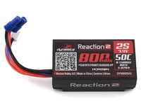 Dynamite Reaction 2S 50C Hard Case LiPo Battery w/EC2 Connector (7.4V/800mAh) (Losi Mini-T 2.0)