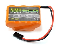 EcoPower 5-Cell 6.0V NiMH Hump Receiver Pack (1500mAh)