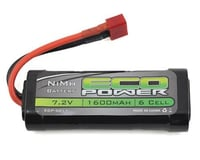 EcoPower 6-Cell NiMH 2/3A Stick Battery w/T-Style Connector (7.2V/1600mAh) (Helion Animus 18MT)