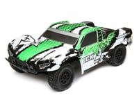 ECX Torment 1/10th 4WD Short Course Truck (White/Green)