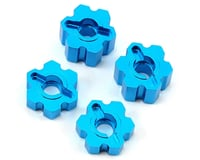 ECX Torment Aluminum Wheel Hex Set (Blue)