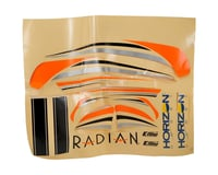 E-flite Radian Decal Sheet