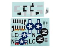 E-flite P-51D Mustang 1.2m Decal Sheet