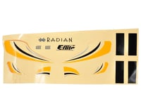 Image 1 for E-flite Ultra Micro Radian Decal Sheet