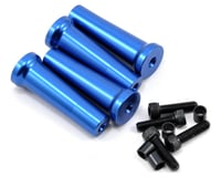 Evolution 50mm Gas Engine Mount Standoff Set (Blue) (4) | relatedproducts