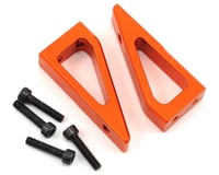 Exotek D413 Aluminum Wing Mount Set (Orange) (HB Racing D418)