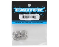 Image 2 for Exotek 22mm 1/8 XL Titanium Wing Buttons (2)