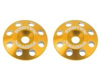 Exotek Flite V2 16mm Aluminum Wing Buttons (2) (Gold)