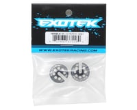 Image 2 for Exotek +5 Aluminum B6/B74 Spring Cup Set (Black) (2)