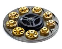 Image 3 for Exotek G.LOK Gear Locker Pinion & Spur Gear Case w/Parts Tray (Black)