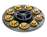 Image 3 for Exotek G.LOK Gear Locker Pinion & Spur Gear Case w/Parts Tray (Blue)