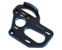 Exotek B6.1/T6.1/SC6.1 Laydown/Back Motor Plate (Black/Blue) | alsopurchased