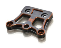 Exotek D819/E819 Aluminum HA Steering Brace Plate (Black/Orange)