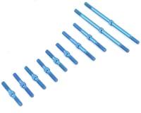 Exotek F1 Ultra Titanium Turnbuckle Set (Blue) (10)