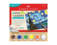 Faber-Castell Faber Castell Paint By Number Museum Series The Starry Night by Vincent Van Gogh