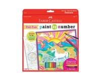 Faber-Castell Children's Paint By Number Unicorn Foil Fun Art Set