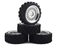 Firebrand RC Crownjewel RXG3 Gymkhana Pre-Mounted Rally Tires (4) (Chrome) | relatedproducts