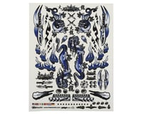 "Firebrand RC Concept Dragon Decal (Blue) (8.5x11"") 