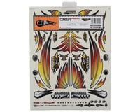 "Image 2 for Firebrand RC Concept Phoenix Decal (Orange) (8.5x11"")"