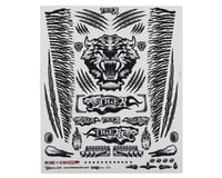 "Firebrand RC Concept Tiger Decal Sheet (Black) (8.5x11"")"