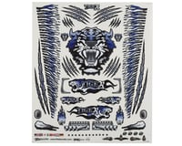 "Firebrand RC Concept Tiger Decal Sheet (Blue) (8.5x11"")"