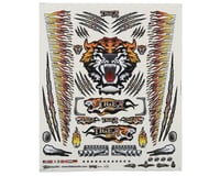 "Image 1 for Firebrand RC Concept Tiger Decal (Orange) (8.5x11"")"