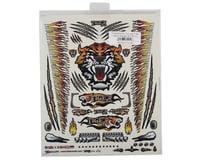 "Image 2 for Firebrand RC Concept Tiger Decal (Orange) (8.5x11"")"