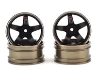 Firebrand RC HighFive PRO SERIES Aluminum Drift Wheels (4) (Gunmetal/Black)