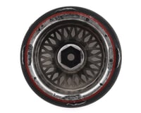 Image 2 for Firebrand RC Crownjewel D239 Pre-Mounted 2-Piece Slick Drift Tires (4) (Chrome)