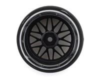 Image 2 for Firebrand RC Darkmatter D29 Pre-Mounted 2-Piece Drift Tires (4) (Smoke Chrome)