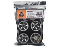 Image 3 for Firebrand RC Highfive XDR9 5° Pre-Mounted Slick Drift Tires (4) (Chrome)