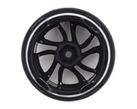 Image 2 for Firebrand RC Superskunk D2 Pre-Mounted Slick Drift Tires (4) (White/Black)