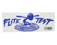"Flite Test Mini Guinea 10.5"" Die Cut Gremlin Logo Vinyl Decal (Blue)"