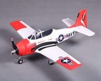 FMS T-28 V2 Plug-N-Play Electric Airplane (Red) (800mm)