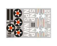 FMS T-28 Trojan V2 Decal Sheet: 800mm, Red