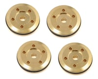 Flash Point 16mm Brass Damper Piston (4) (1.45mm 5-Hole) (Losi 8IGHT-T 4.0)