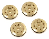 Flash Point 16mm Brass Damper Piston (4) (4X1.15mm/4X1.35mm 8-Hole) (Tekno RC NB48)